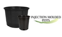 Injection Molded Pots